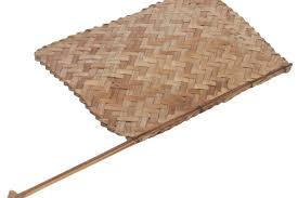 bamboo fan traditional indian handheld fan woven bamboo traditional