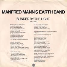 Blinded By The Lifht 45cat Manfred Mann U0027s Earth Band Blinded By The Light Mono