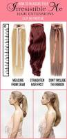 Hair Extension Lenghts by 8 Best Hair Extension Images On Pinterest Blog Clip In Hair