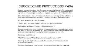 The Big Bang Theory End Credit Vanity Cards Chuck Lorre Productions