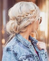 Frisuren Mittellange Haare Zopf by Die Besten 25 Zopffrisuren Ideen Auf Zopfrisuren
