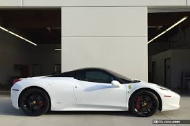458 spider roof wrap vs paint when to wrap and when to paint your car