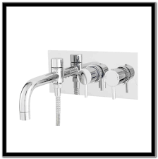 wall mounted kitchen faucet with spray sinks and faucets home