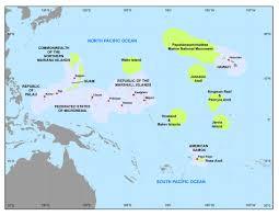 Map Of Guam Map Of The U S Pacific Islands Region U2013 Updated U2013 Pirca