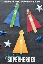 halloween crafts using popsicle sticks best 20 super hero crafts ideas on pinterest simple kids crafts
