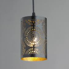 Metal Ceiling Light Shades Metal Lace Pendant Light Shades Of Light