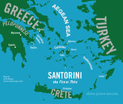 Map Of Athens Greece by Santorini Greece Athens Greece Now