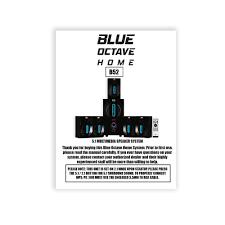 rca dvd home theater system manual amazon com blue octave home b52 5 1 surround sound bluetooth home