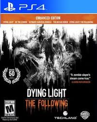 dying light playstation 4 dying light the following enhanced edition ps4 playstation 4