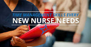 5 time management skills for new nurses