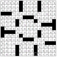Drapery Material Crossword Humdrum Existence Crossword U0026 Sorry Still Dealing With Sick