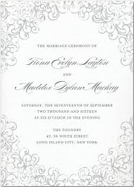 wedding bulletins wedding programs wedding program wording