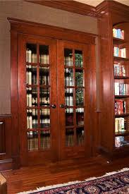 Cherry Wood Bookcase With Doors Cherry Library And Home Office In Ellicott City Maryland