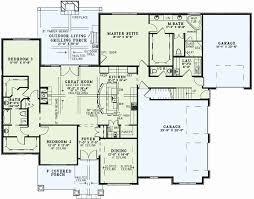 one story floor plans with bonus room one story house plans with bonus room above garage inspirational