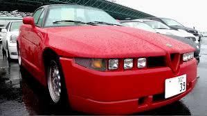 zagato alfa romeo 1994 alfa romeo sz sprint zagato 17k lhd japanese auto