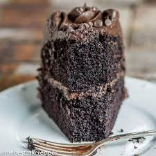 dark chocolate cake recipe homemade cake u0026 chocolate buttercream