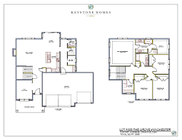 Floor Plans For 2 Story Homes by Keystone Homes Homes For Sale
