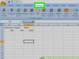 tutorial para usar vlookup how to use vlookup with an excel spreadsheet 10 steps