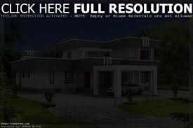 Home Design Style Types by Box Type House Exterior Elevation Kerala Home Design And Floor