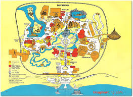 magic kingdom disney map your guide to walt disney 1978 celebrating 40 years of walt
