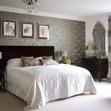 bedroom bedroom white decor and blue silver floral in