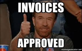Approved Meme - invoices approved chuck norris approved meme generator