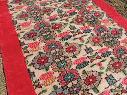 Turkish Area Rugs Vintage Turkish Area Rug With Lovely Floral Patterns And