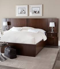 Bed With Attached Nightstands Bed With Nightstands Attached Cepagolf