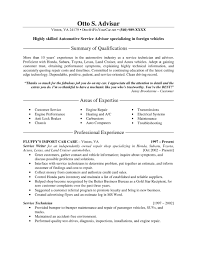 Resume Samples For Customer Service by Customer Service Advisor Sample Resume Arlene Fink Conducting