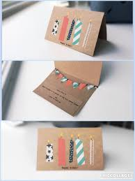 Homemade Card Ideas by Make Your Own Birthday Card Diy Washi Tape A R T U0026 C