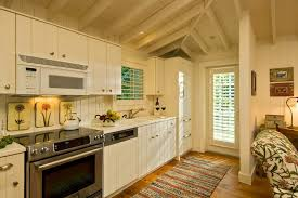 Cottage Wainscoting Beach Cottage Kitchen Style With Door Shutter Drink Sleeves