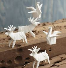 Origami Christmas Decorations Reindeer by 79 Best Origami Images On Pinterest Origami Paper Paper And Crafts