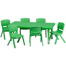 Toddler Table Chair Daycare Tables And Preschool Table And Chair Sets At Daycare