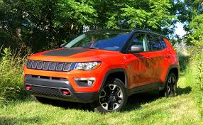 red jeep compass 2017 jeep compass trailhawk review