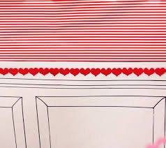 Red And White Striped Awning Valentine U0027s Day Party Cupid U0027s Post Office