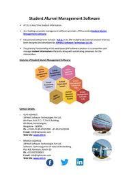 alumni website software student alumni management software by ravi issuu