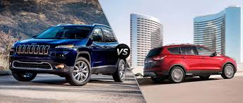 ford jeep 2015 jeep cherokee vs 2016 ford escape mac haik dodge chrysler