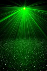 green light rays emerald green green lights