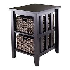 Powell Black Glass Top Side Accent End Tables Glass Metal Wood End Tables Bed Bath