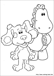 clues coloring picture