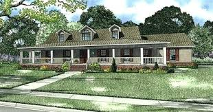one country house plans with wrap around porch house plans one level with wrap around porch 1 floor house plans 2