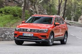 volkswagen tiguan 2016 red new volkswagen tiguan allspace 2017 review auto express