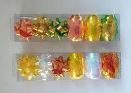 gift wrap ribbon silver gift wrap ribbon set pet and iridescent egg and