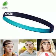 hair bands for women aonijie men and women sports running hair bands anti slip elastic