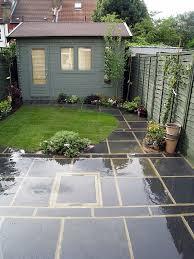 stunning paved garden designs 17 best ideas about small garden