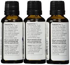 amazon com 3 pack variety of now essential oils tea tree