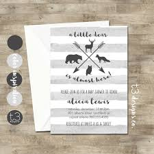 woodland baby shower invitations woodland animal baby shower invitation woodland baby shower