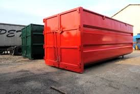 metal waste container industrial waste mobile pt 1 pomot