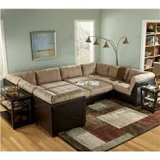 Sectional Sofa With Ottoman Sectionals By Furniture Outdoor Decor Ideas Summer 2016