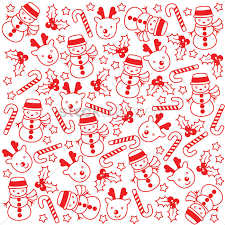 christmas pattern christmas pattern background vector image 1580468 stockunlimited